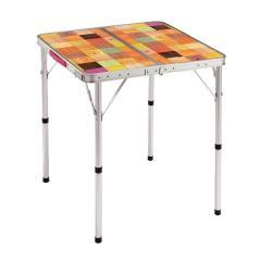 (セール)COLEMAN(コールマン)キャンプ用品 ファミリーテーブル ナチュラルモザイクリビングテーブル/60プラス 2000026754
