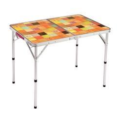 (セール)COLEMAN(コールマン)キャンプ用品 ファミリーテーブル ナチュラルモザイクリビングテーブル/90プラス 2000026752
