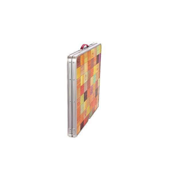 (セール)COLEMAN(コールマン)キャンプ用品 ファミリーテーブル ナチュラルモザイクリビングテーブル/120プラス 2000026751