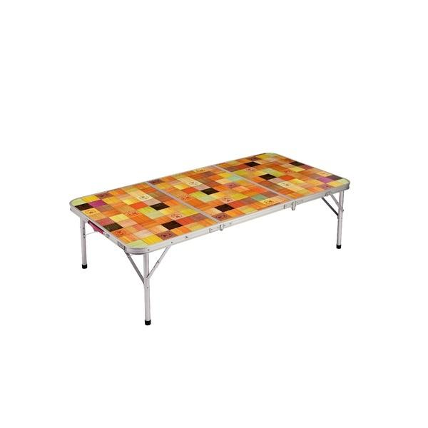 10%OFFクーポン対象商品 (セール)(送料無料)COLEMAN(コールマン)キャンプ用品 ファミリーテーブル ナチュラルモザイクリビングテーブル/140プラス 2000026750 クーポンコード:KZUZN2T