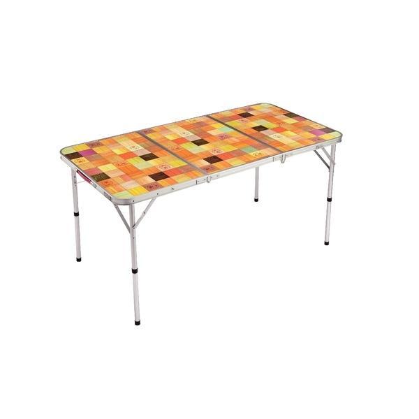 (セール)(送料無料)COLEMAN(コールマン)キャンプ用品 ファミリーテーブル ナチュラルモザイクリビングテーブル/140プラス 2000026750