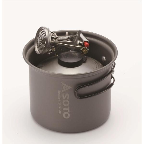 (送料無料)SOTO(ソト) キャンプ用品 ガスバーナー アミカスセット コンボ 76403201