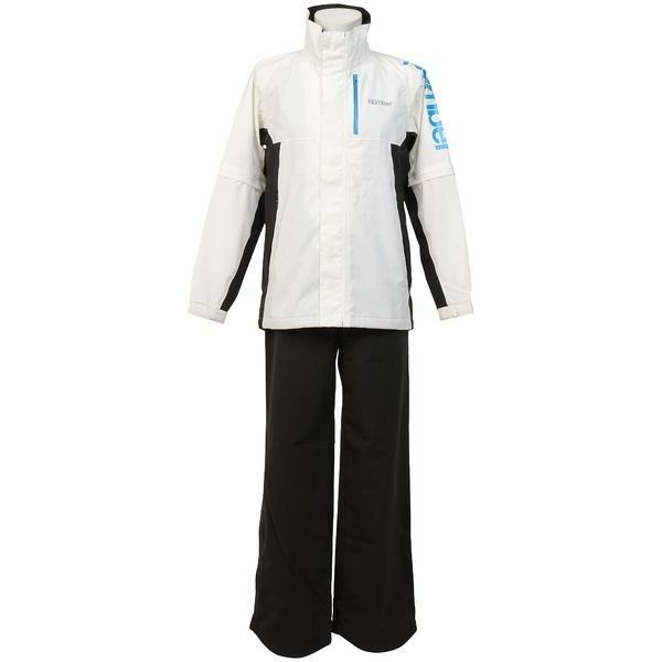 (セール)Number(ナンバー)ゴルフ メンズレインウェア ストレッチレインウェアー NB-Y16-202-029 ホワイト