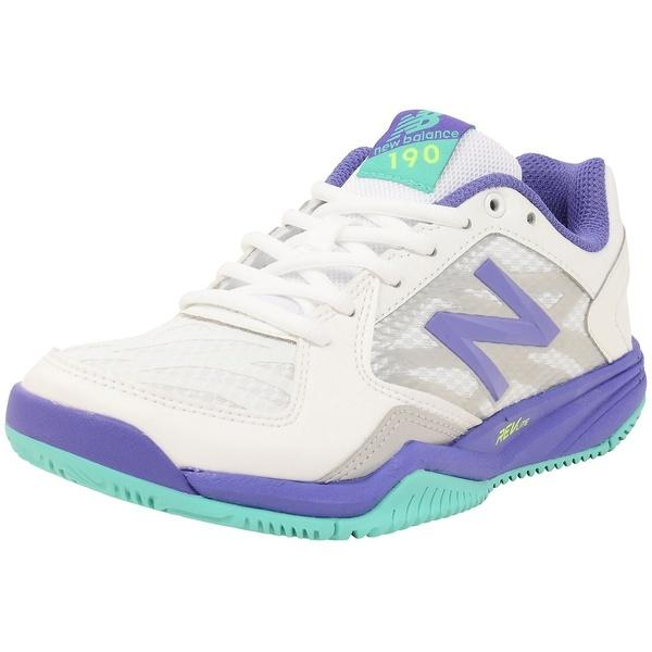 8bd186193c6fa ... セール)New Balance(ニューバランス)レディーステニスシューズ WC190WP1D WC190WP1D レディース WHITE/  ...