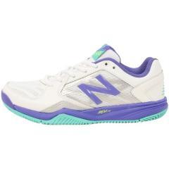 (セール)New Balance(ニューバランス)テニス バドミントン レディースオールコート WC190WP1D WC190WP1D レディース WHITE/PURPLE