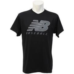 (セール)New Balance(ニューバランス)野球 半袖Tシャツ TMMT604 TBK TMMT604 TBK メンズ TBK