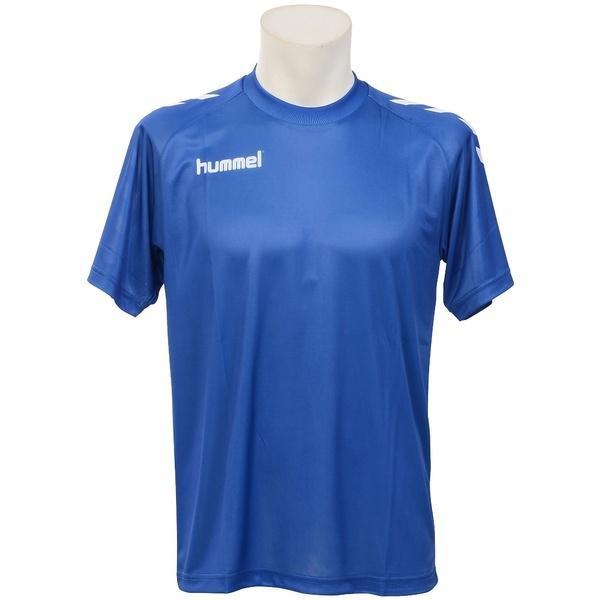 (セール)hummel(ヒュンメル)その他競技 体育器具 ハンドボール プレゲームシャツ HAG3015 ロイヤルブルー
