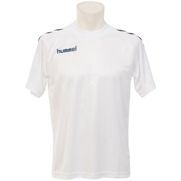 hummel(ヒュンメル)その他競技 体育器具 ハンドボール プレゲームシャツ HAG3015 ホワイト*ネイビー