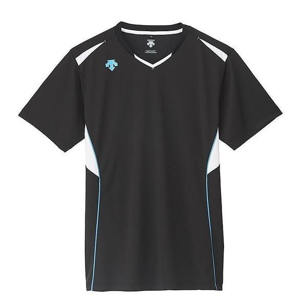 (セール)DESCENTE(デサント)バレーボール 半袖プラクティスシャツ 半袖プラクティスシャツ DVB-5624 BBL