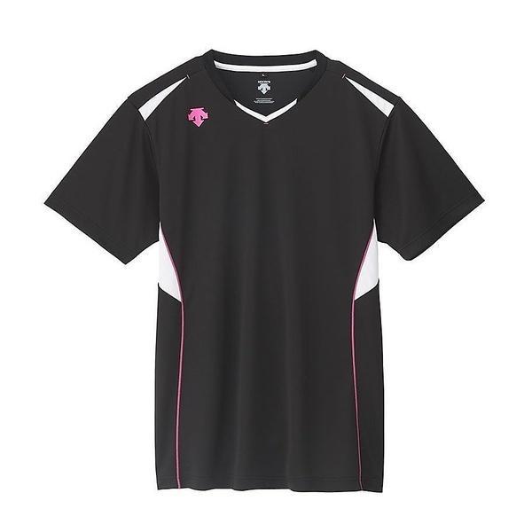 (セール)DESCENTE(デサント)バレーボール 半袖プラクティスシャツ 半袖プラクティスシャツ DVB-5624 BPK