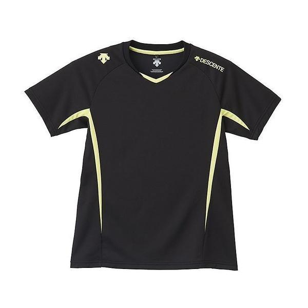 (セール)DESCENTE(デサント)バレーボール 半袖プラクティスシャツ 半袖プラクティスシャツ DVB-5625W レディース BLY