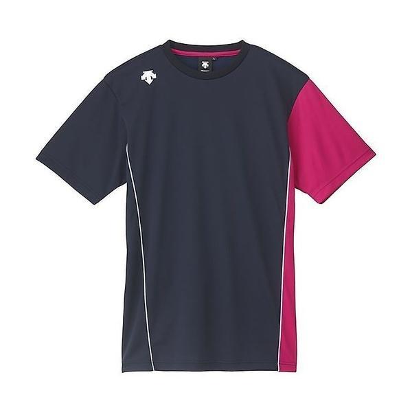 (セール)DESCENTE(デサント)バレーボール 半袖Tシャツ SS PRA SHIRT DVB-5626 DNMZ
