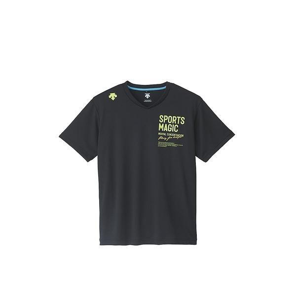 (セール)DESCENTE(デサント)バレーボール 半袖Tシャツ 半袖プラクティスシャツ DVB-5627A BGR