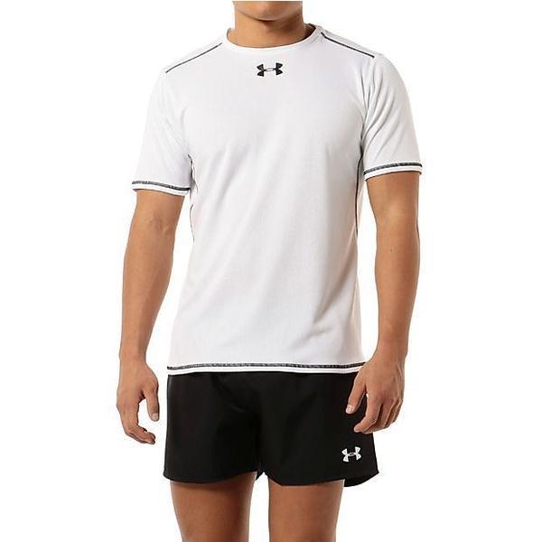 (セール)UNDER ARMOUR(アンダーアーマー)その他競技 体育器具 ラグビー UAラグビープラクティスシャツSS #MRG3098 メンズ WHT