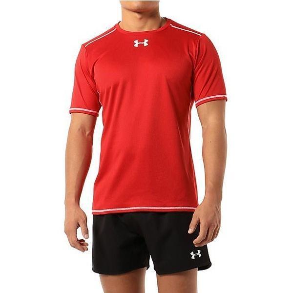 (セール)UNDER ARMOUR(アンダーアーマー)その他競技 体育器具 ラグビー UAラグビープラクティスシャツSS #MRG3098 メンズ RED