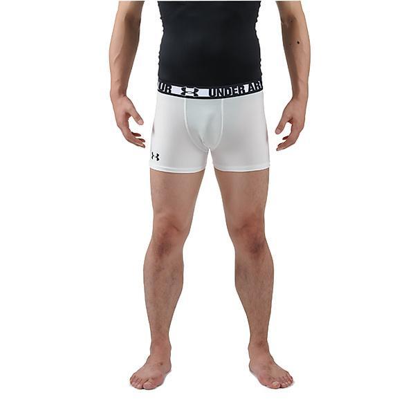 (セール)UNDER ARMOUR(アンダーアーマー)その他競技 体育器具 ラグビー UA HGラグビーコンプレッションショートショーツ MRG3758 メンズ WHT/BLK