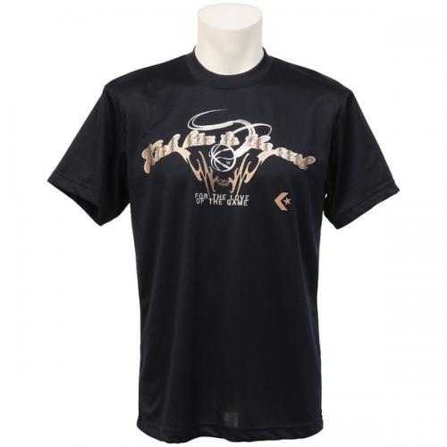 (セール)CONVERSE(コンバース)バスケットボール メンズ 半袖Tシャツ 16SS SMUプリントTシャツ CBC261319-2900 メンズ ネイビー