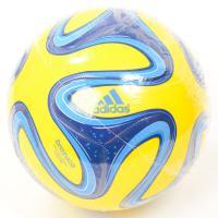 adidas(アディダス)サッカー 5号ボール ブラズーカ 5号球 AF5822YB 5号球 イエローxブルー