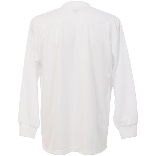 (セール)ASICS(アシックス)バレーボール 長袖Tシャツ 16 1POINT T LS EZO929.0150 WHT/NVY