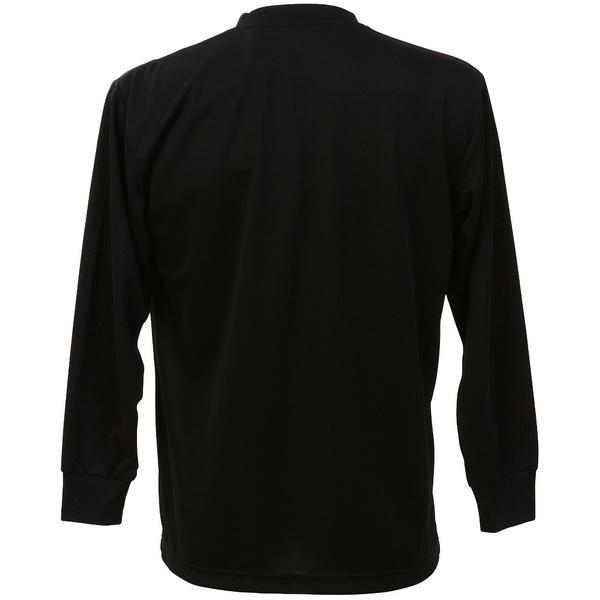 (セール)ASICS(アシックス)バレーボール 長袖Tシャツ 16 1POINT T LS EZO929.9010 BLK/SLV