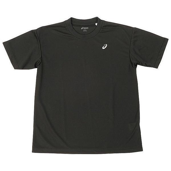 (セール)ASICS(アシックス)バレーボール 半袖Tシャツ 16 1POINT T HS EZO928.9010 BLK/SLV