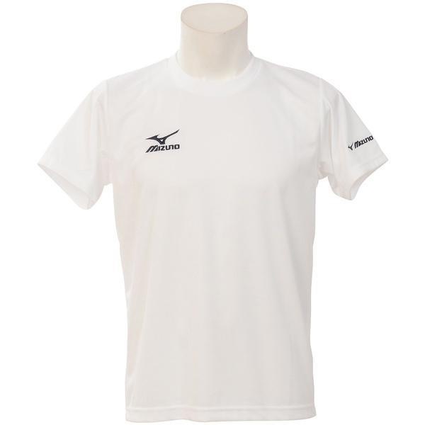MIZUNO(ミズノ)バレーボール 半袖Tシャツ NC半袖プラクティスシャツ V2MA640290 ブラックXホワイト