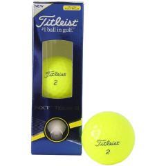 Titleist(タイトリスト)ゴルフ ボール 16 NXT TOUR S YELLOW 3P T4133S-3P メンズ YEL