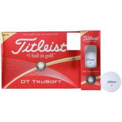 (セール)Titleist(タイトリスト)ゴルフ ダースボール 他 16 DT TRUSOFT T6032S-NP メンズ WHT