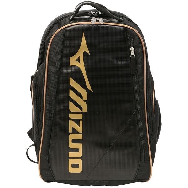 (送料無料)MIZUNO(ミズノ)テニス バドミントン ラケットバッグ ケース バックパック 63JD650309 09:ブラック