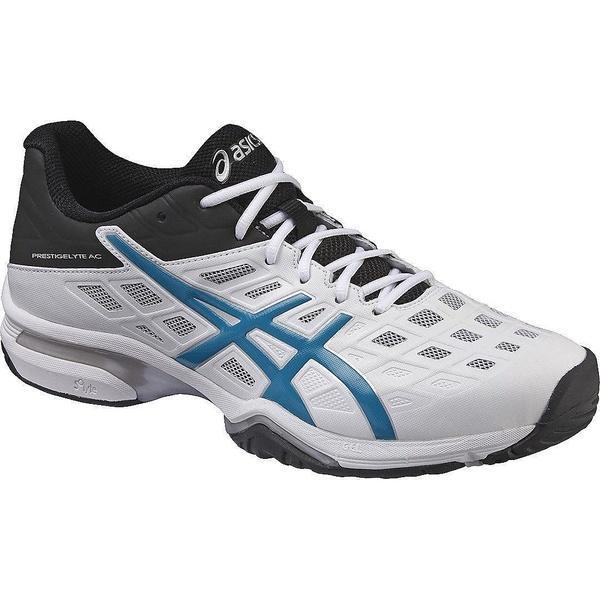 (送料無料)ASICS(アシックス)テニス バドミントン オールコート PRESTIGELYTE AC-WIDE TLL779.0143 ホワイト/BJW