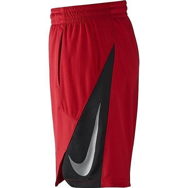 (セール)NIKE(ナイキ)バスケットボール メンズ プラクティスショーツ ナイキ ハイパークール パワー ショート 718821-657 メンズ ユニバーシティレッド/ユニバーシティレッド/ブラック/(メタリックシルバー)