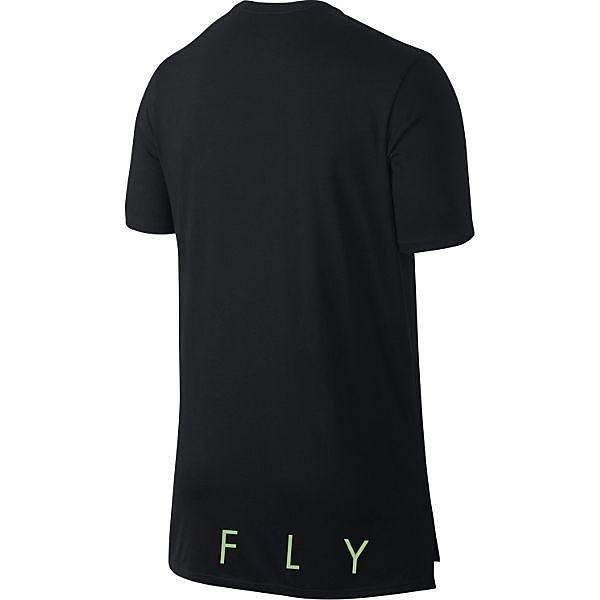 (セール)NIKE(ナイキ)バスケットボール メンズ 半袖Tシャツ ナイキ バッグボード ドロップテイル Tシャツ 819884-010 メンズ ブラック/ブラック/(アクショングリーン)
