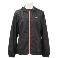(セール)New Balance(ニューバランス)ランニング レディースウインド 裏地付きウィンドジャケット JWJR6766 BK レディース ブラック