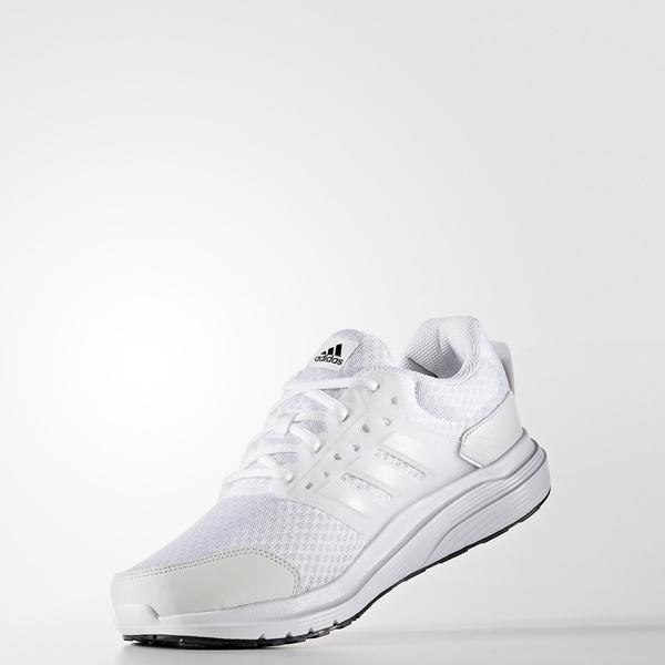 adidas(アディダス)ランニング メンズジョギングシューズ GALAXY 3 KDV76 AQ6546 メンズ ランニングホワイト/クリスタルホワイト S16/シルバーメット