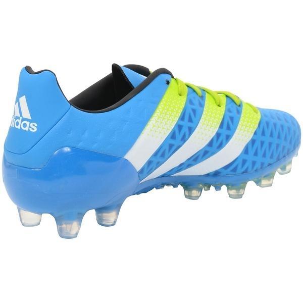 (セール)(送料無料)adidas(アディダス)サッカー スパイク エース 16.2-ジャパン HG KCU36 AF5122 メンズ ショックブルーS16/セミソーラースライム/ランニングホワイト