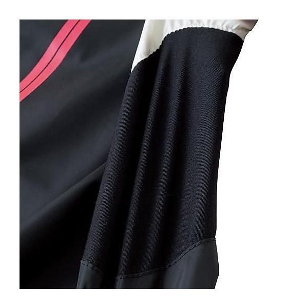 (セール)MIZUNO(ミズノ)バレーボール ウェア ムーヴウィンドブレーカーシャツ V2ME651297 ブラックxディーバピンク