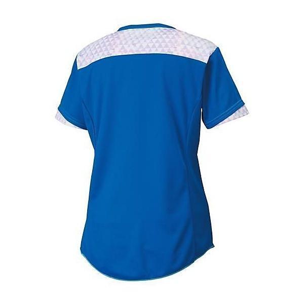 (セール)MIZUNO(ミズノ)バレーボール 半袖プラクティスシャツ プラクティスシャツ V2MA670126 レディース スカイダイバー