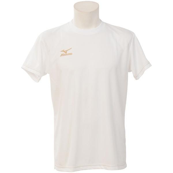 (セール)MIZUNO(ミズノ)バレーボール 半袖プラクティスシャツ プラクティスシャツ V2MA658201 ホワイト