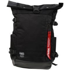 (セール)Number(ナンバー)スポーツアクセサリー バッグパック ロールアップ型バックパック NB-Y16-308-004 FREE ブラック