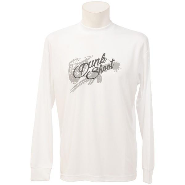 (セール)s.a.gear(エスエーギア)バスケットボール メンズ 長袖Tシャツ 長袖グラフィックT 2 SA-F16-103-041 メンズ ホワイト