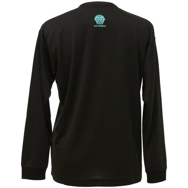 (セール)s.a.gear(エスエーギア)バスケットボール レディース 長袖Tシャツ WS長袖グラフィックT 1 SA-F16-103-044 レディース ブラック/ブルー