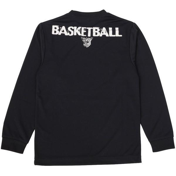 (セール)s.a.gear(エスエーギア)バスケットボール ジュニア 長袖Tシャツ JR長袖グラフィックT 1 SA-F16-103-045 ジュニア ネイビー