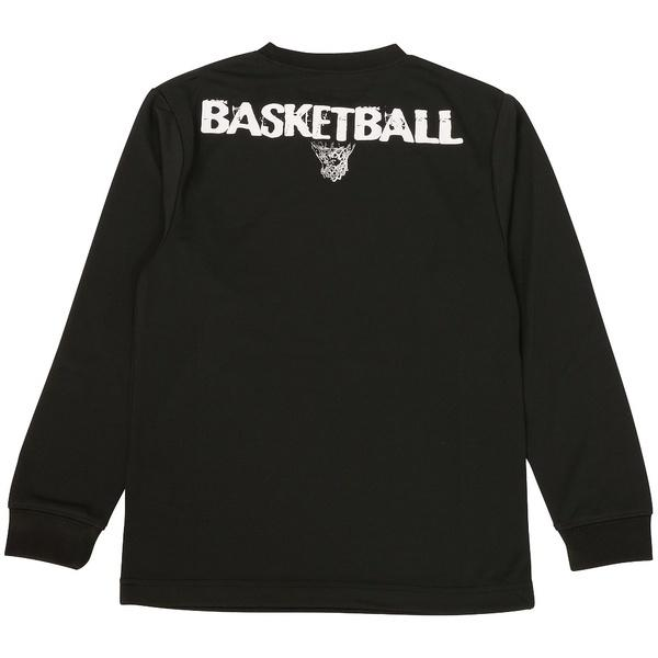 (セール)s.a.gear(エスエーギア)バスケットボール ジュニア 長袖Tシャツ JR長袖グラフィックT 1 SA-F16-103-045 ジュニア ブラック