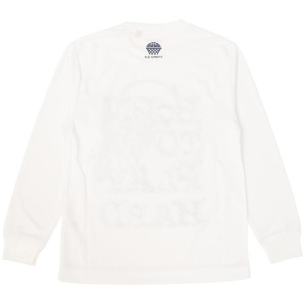(セール)s.a.gear(エスエーギア)バスケットボール ジュニア 長袖Tシャツ JR長袖グラフィックT 3 SA-F16-103-047 ジュニア ホワイト/ネイビー