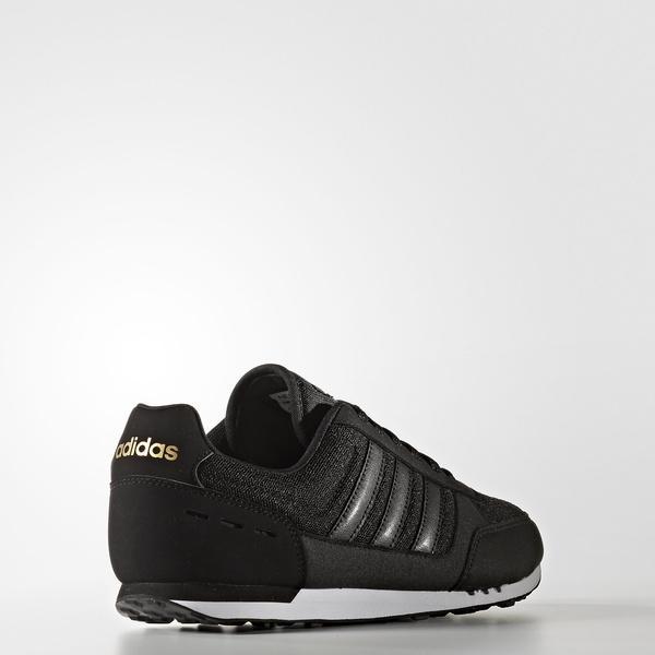 (セール)adidas(アディダス)シューズ カジュアル NEOCITYRACER W BTX30 AW4951 レディース コアブラック/コアブラック/ランニングホワイト