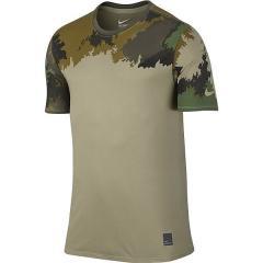 NIKE(ナイキ)メンズスポーツウェア 半袖機能Tシャツ ナイキ DRI-FIT ブレンド コンテイジアス カモ Tシャツ 821965-258 メンズ ニュートラルオリーブ/カーゴカーキ/(ニュートラルオリーブ)