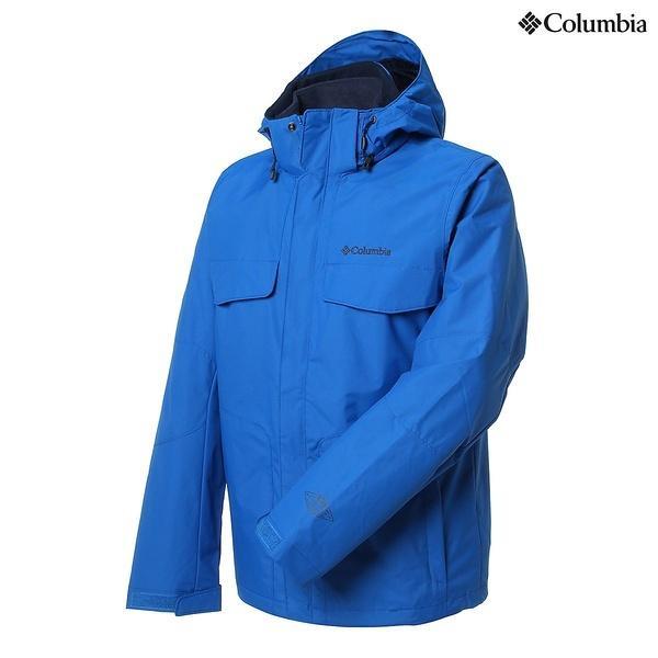 (セール)(送料無料)Columbia(コロンビア)ウインター メンズボードウェア BUGABOO JKT WE1053-438 メンズ SUPER BLUE