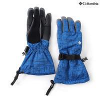 (セール)Columbia(コロンビア)ウインター メンズグローブ WHIRLIBIRD GL SM9106-438 メンズ SUPER BLUETWEED PLAID PRINT