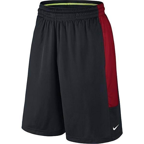 (セール)NIKE(ナイキ)バスケットボール メンズ プラクティスショーツ ナイキ キャッシュ ショート 718342-012 メンズ ブラック/ユニバーシティレッド/ブラック/(ホワイト)
