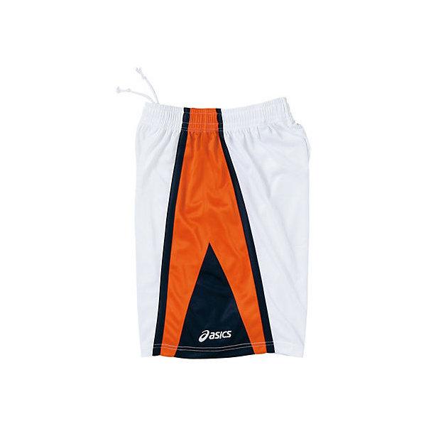 (セール)ASICS(アシックス)バスケットボール レディース プラクティスショーツ WSゲームパンツ XB2851.0120 レディース WHT/ORG